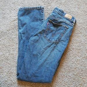 Levi's 505 Blue Jeans Straight Leg Size 6 M